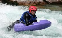 Hydrospeed a Soca folyón